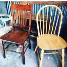 Chair Before (left)